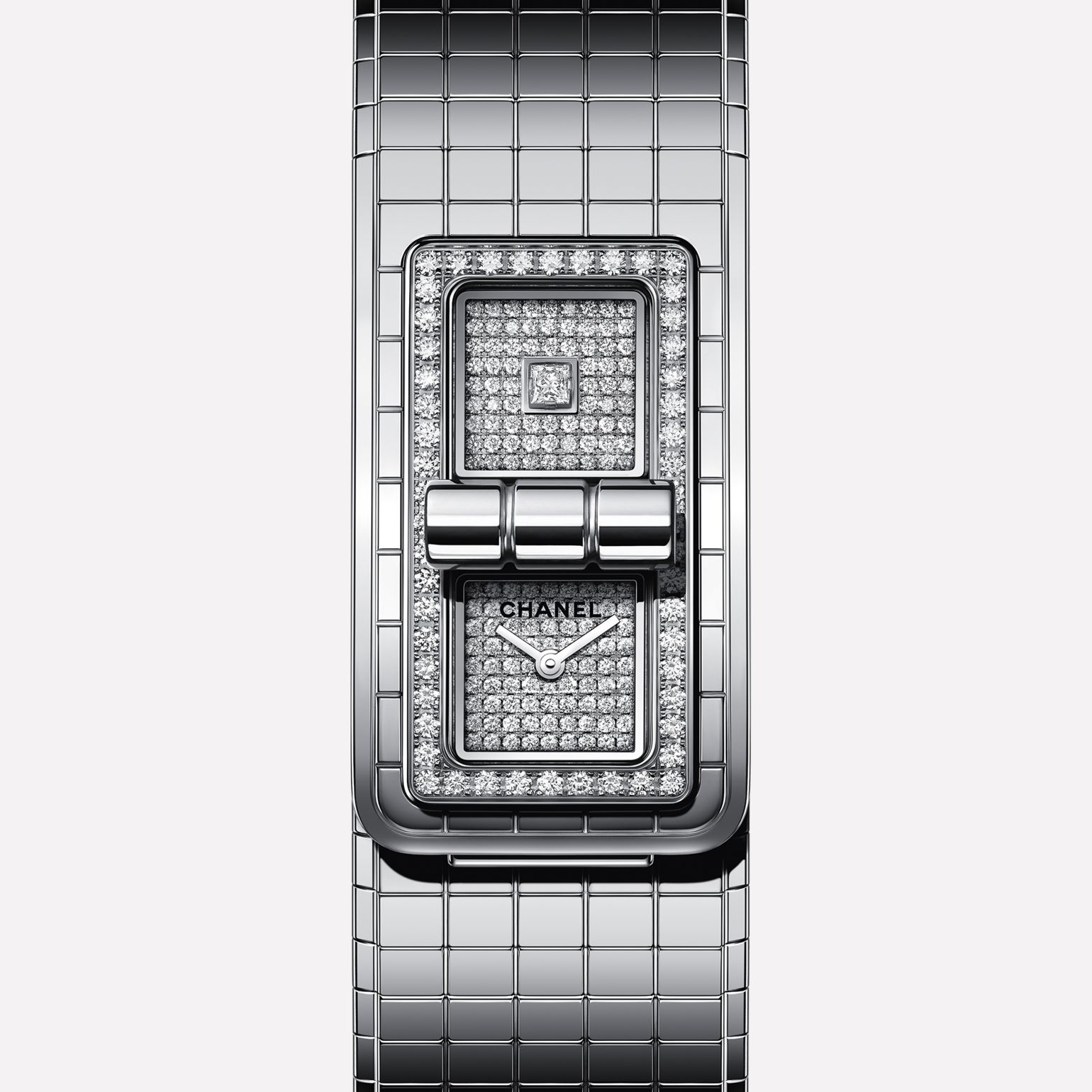 CODE COCO watch Steel and diamonds