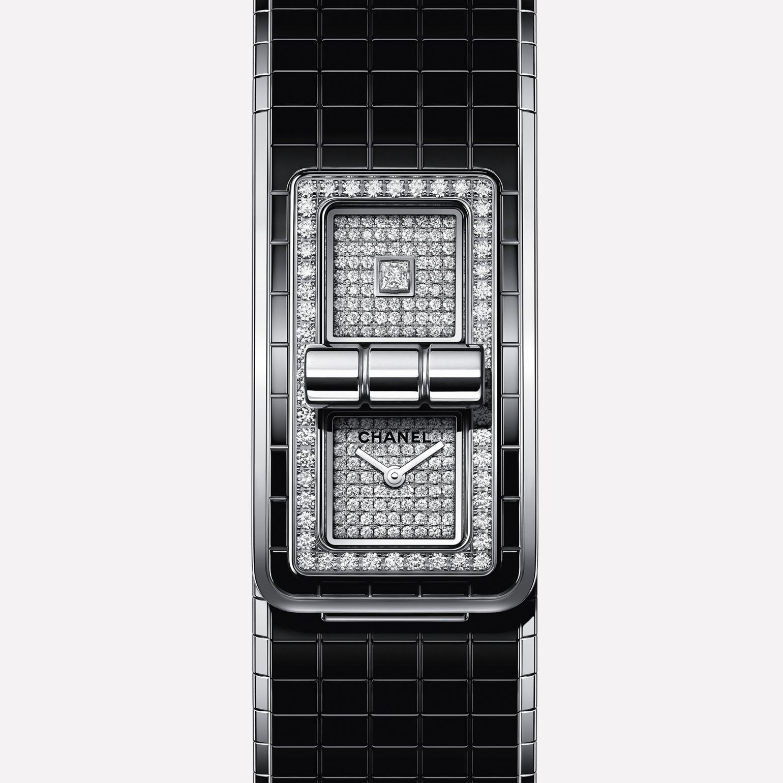 CODE COCO Watch Steel, highly resistant ceramic and diamonds