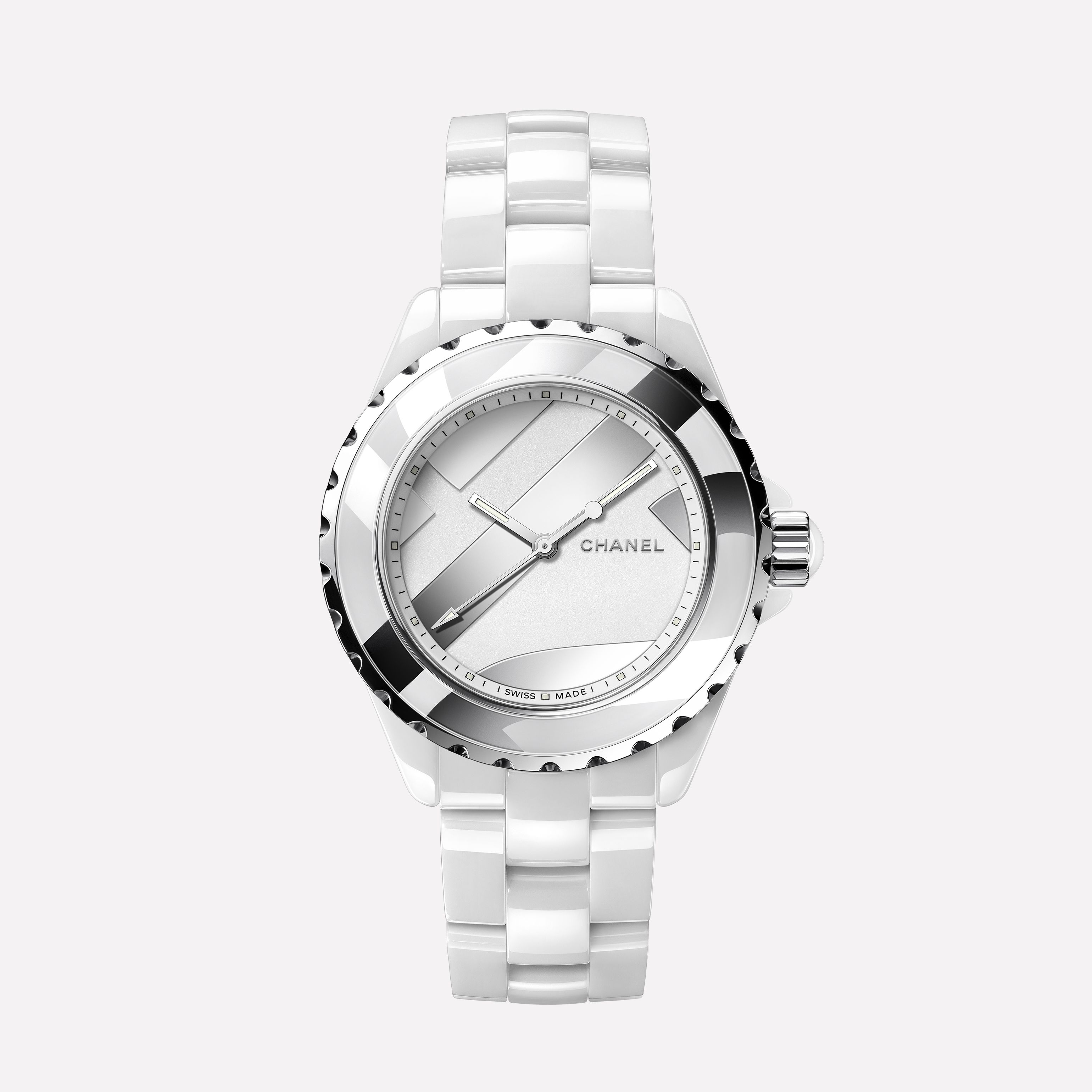 0aee19df0a193 J12 UNTITLED Watch White highly-resistant ceramic and steel