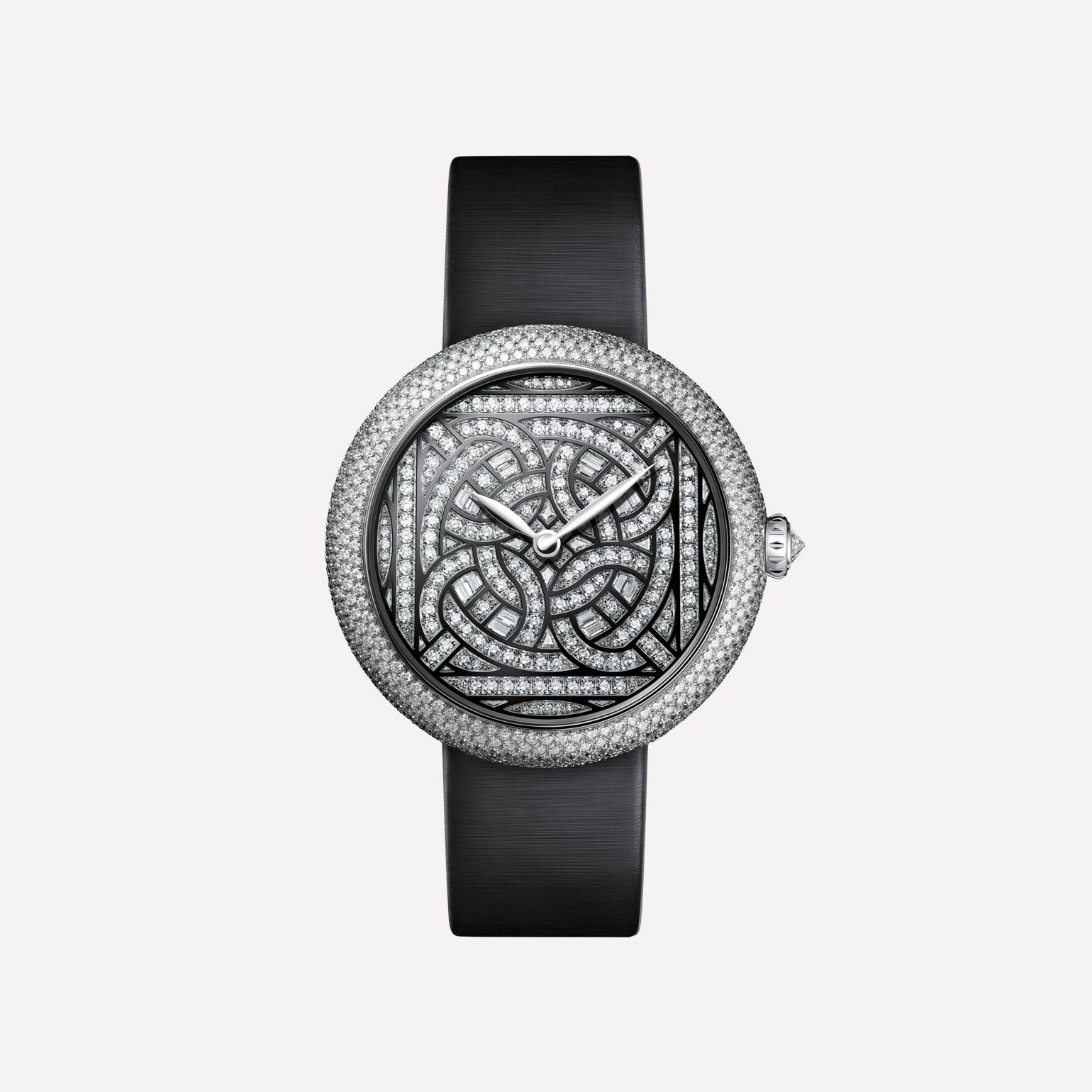 Mademoiselle Privé Watch White gold and diamonds