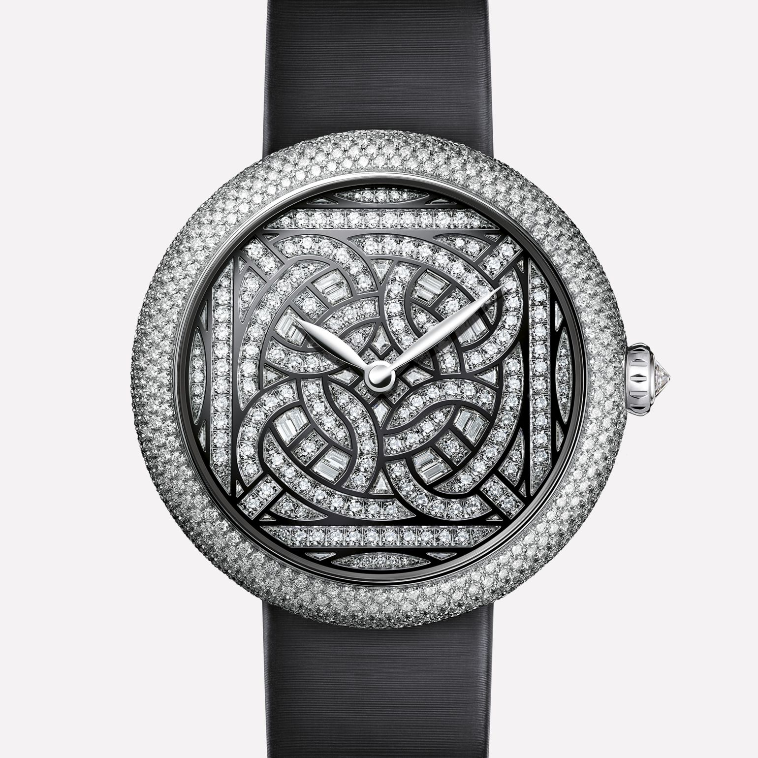 Mademoiselle Privé White gold and diamonds