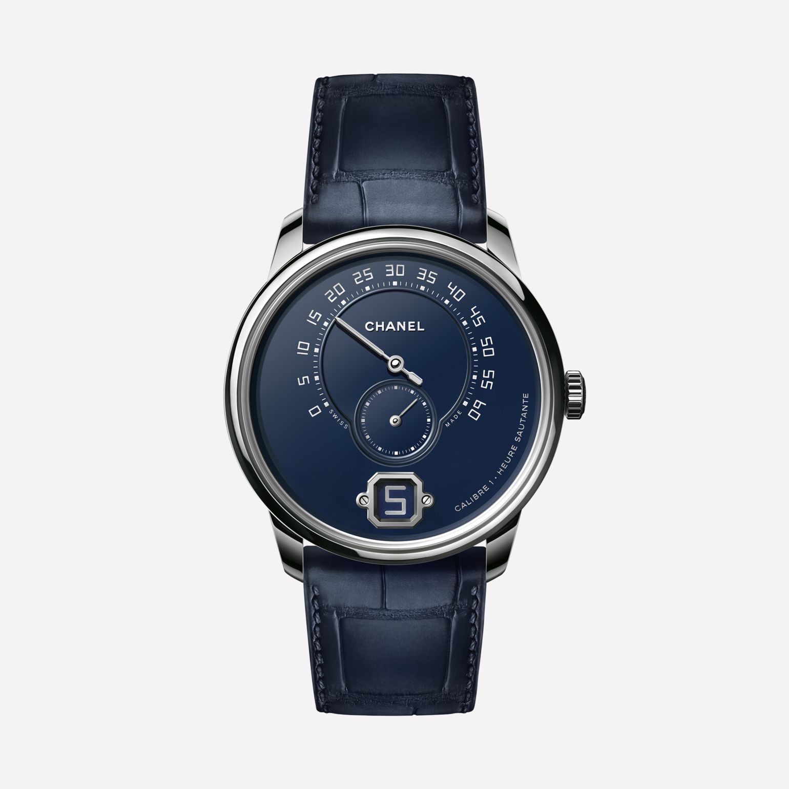 See full size image - Monsieur Watch - H5467 - Front view - Standard view