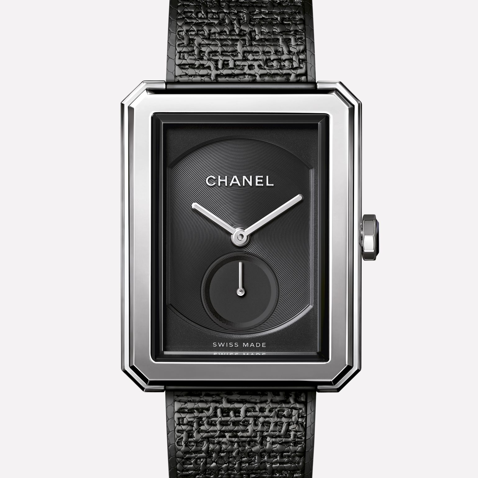 PREMIÈRE∙BOY DE CHANEL TWEED Large version, steel