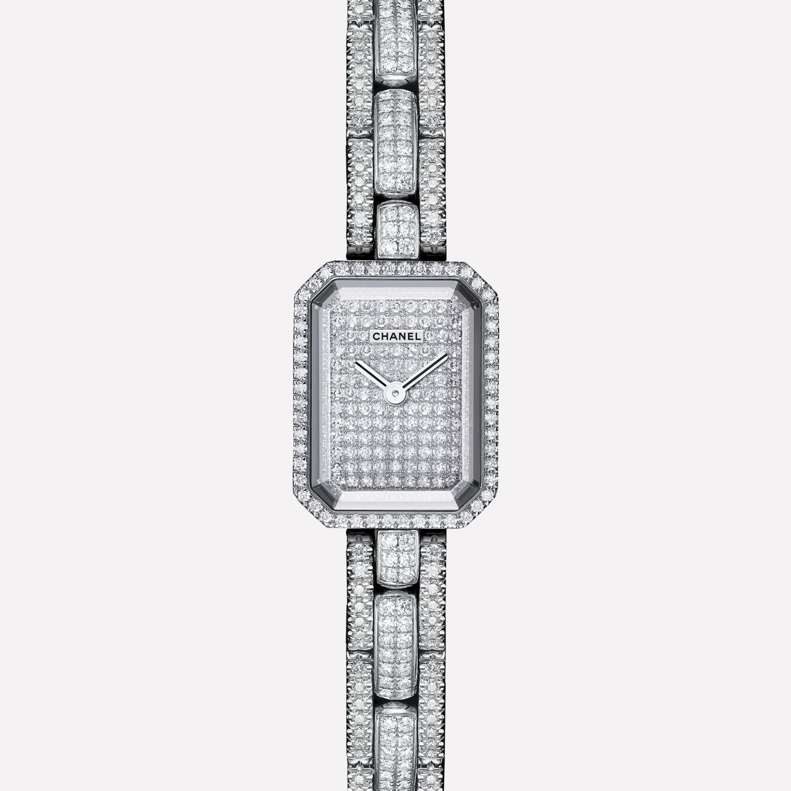 Première Mini Watch White gold and diamonds