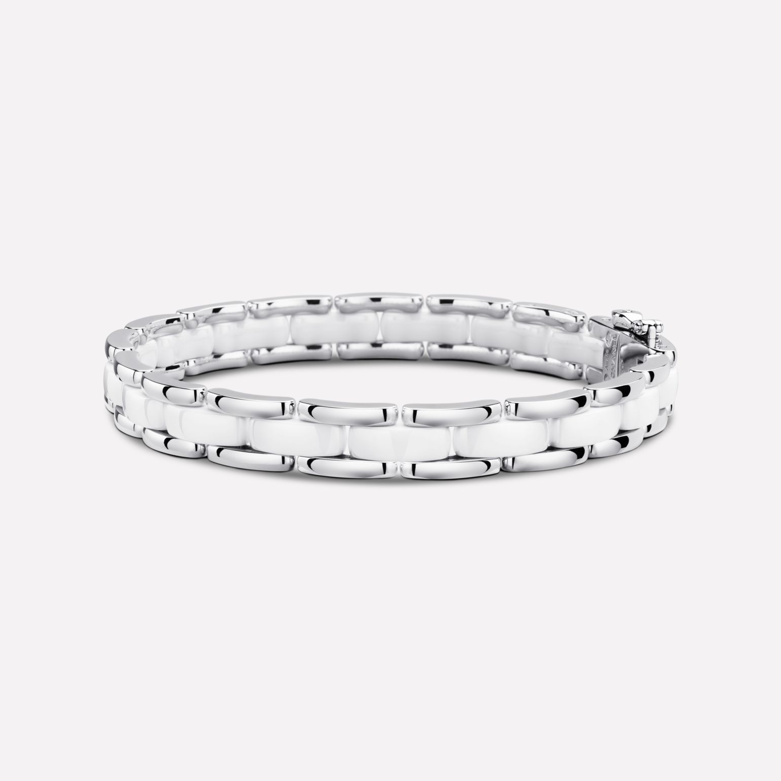 Ultra bracelet Ultra bracelet, in white ceramic and 18K white gold
